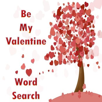 Be My Valentine Word Search