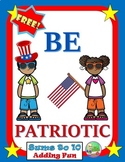 FREE Veterans Day Math Center (Addition)