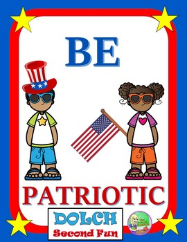 Patriotic: Sight Word Center (Second)