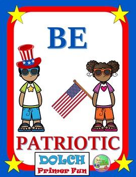 Patriotic: Sight Word Center (Primer)