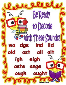 Be Ready to Decode with These Sounds!