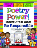 Poem of the Week: Be Responsible Poetry Power!