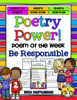 Poem of the Week: Be Responsible Poetry Power!