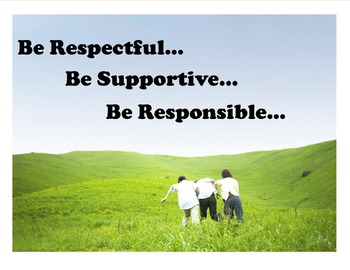 Be Responsible Poster