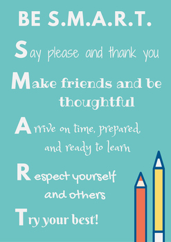 Be S.M.A.R.T. (recipe for success)