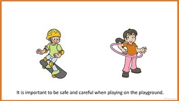 Be Safe on the Playground - Social Story (FULL VERSION)