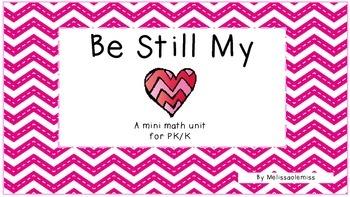 Valentine's Day Math Fun: A mini math unit for PK/K/1