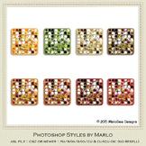 Be Thankful Colors Marlo Glitter Photoshop Styles