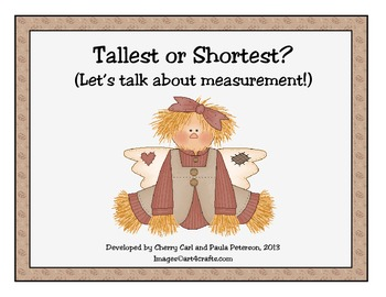 Be Thankful: Tallest or Shortest? Let's talk about measurement!