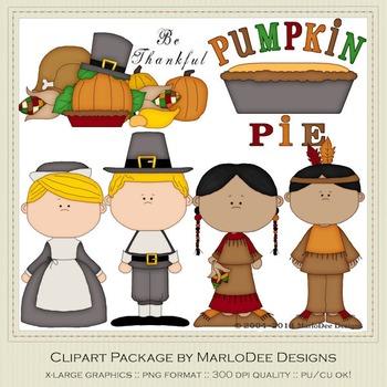 Be Thankful Thanksgiving Clip Art Graphics