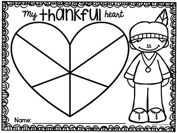 Be Thankful (Thanksgiving Craft in English and Spanish)