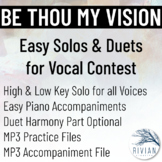 Be Thou My Vision - Easy Solos & Duets for Vocal Contest (