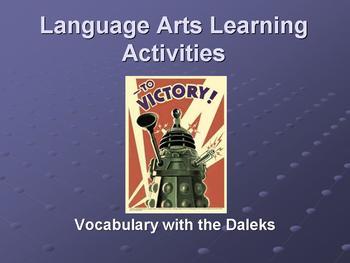 Language Arts Learning Activity ~ Marzano & Common Core
