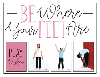 Be Where Your Feet Are