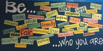 Be Who You Are - Bulletin Board