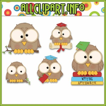 Be Wise Owl Clip Art - Alice Smith Clip Art