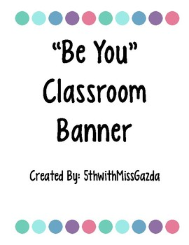 Be You Banner