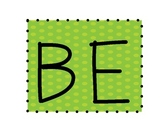 """""""Be You"""" Bulletin Board Cut Outs"""
