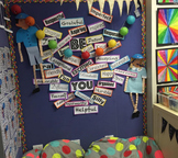 Be You wall display