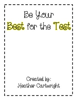 Be Your Best for the Test