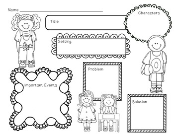 Be Yourself Mini Unit~ Includes Graphic Organizers & Much More!