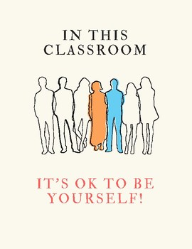 Be Yourself! Poster (middle and high school)