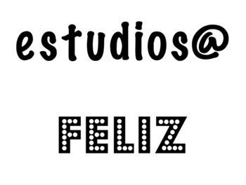 Be Yourself - Spanish bulletin board