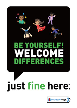 Be Yourself, Welcome Difference!