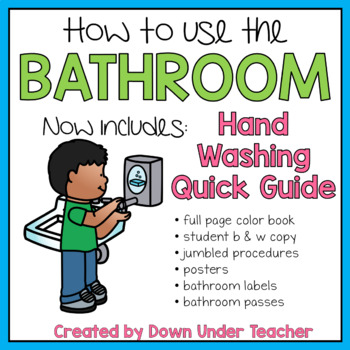 be a bathroom superhero   teaching bathroom rules and