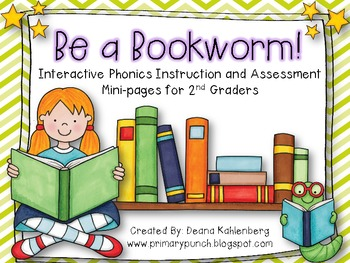 Be a Bookworm! {Interactive Phonics Instruction and Assess