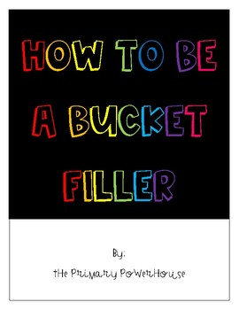 Be a Bucket Filler