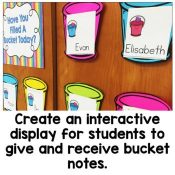 Bucket Filler Activities - Be a Bucket Filler