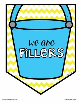Be a Bucket Filler Classroom Banner Pack