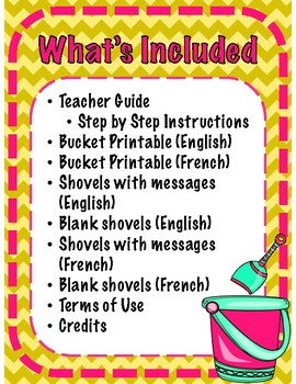 Be a Bucket Filler - Interactive Notebook Kindness Activity