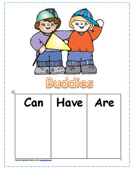 Be a Buddy Classbook