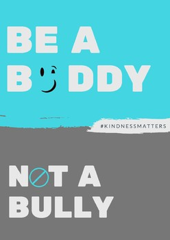 Be a Buddy Poster