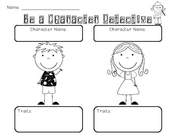Be a Character Detective