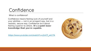 Be a Confident Cookie Power Point Presentation