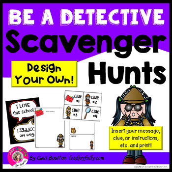 Be a Detective! Easily Design Scavenger Hunts for Your Staff!