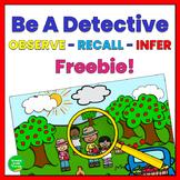 Making Inferences Game Freebie
