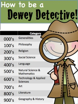 Be a Dewey Detective
