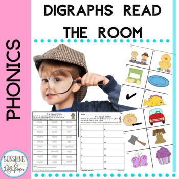 Phonics Digraphs: Be a Digraph Detective