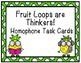 Be a Fruit Loop! Grammar Activities