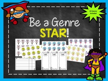 Be a Genre Star! Reading Incentive Program