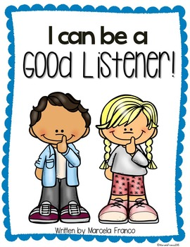 be a good listener resource with craftivity tpt