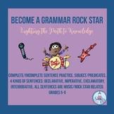Become a Grammar Rock Star (No Prep Grades 5-6)