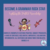 Become a Grammar Rock Star (No Prep Grades 5-6)