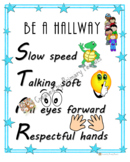 Be a Hallway STAR Poster