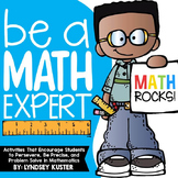 Be a Math Expert! {Beginning of the Year Activities}