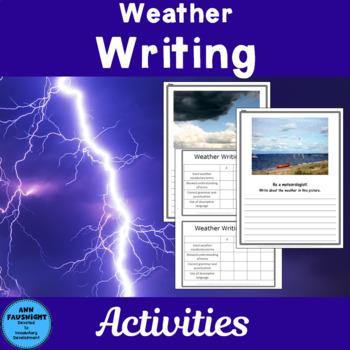 Be a Meteorologist Writing Freebie